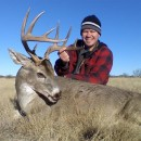Killing mature bucks on food plots for deer